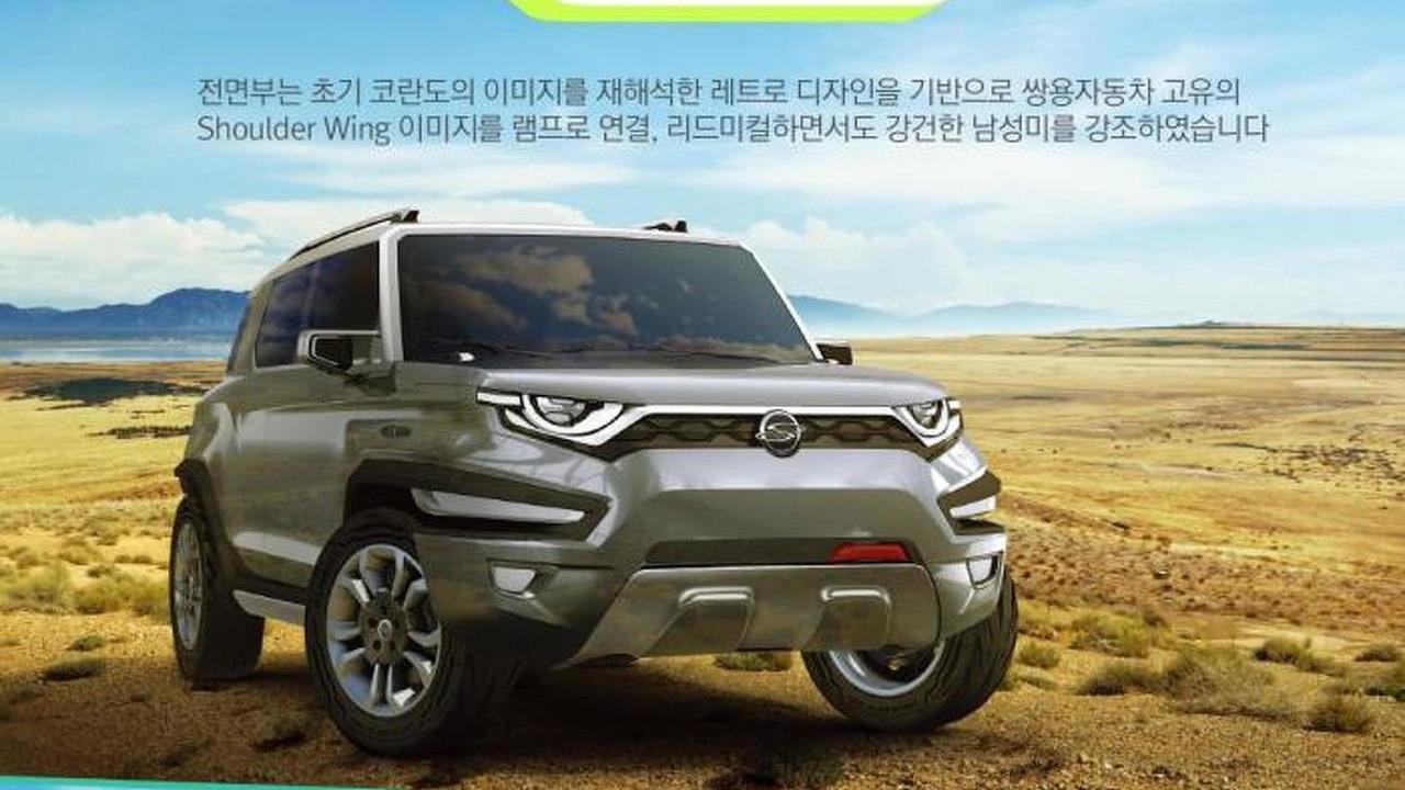Sssangyong XAV concept