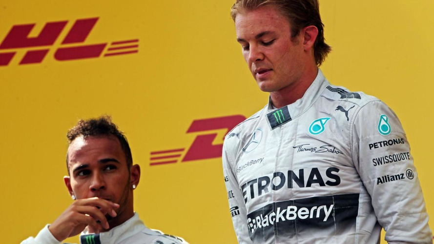 Mercedes to limit warring drivers' pit strategies