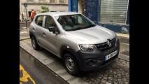 Flagra: Renault Kwid é clicado em versão