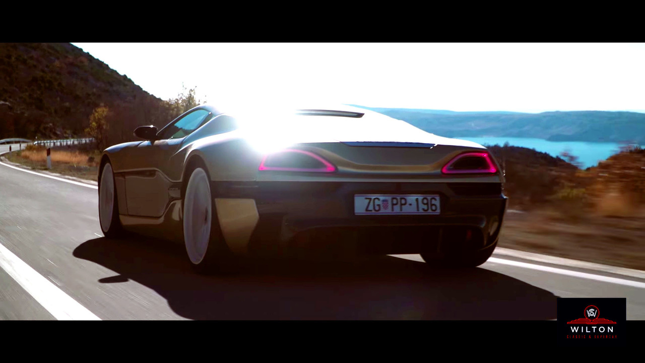 Bugatti Veyron meets the Rimac Concept_One