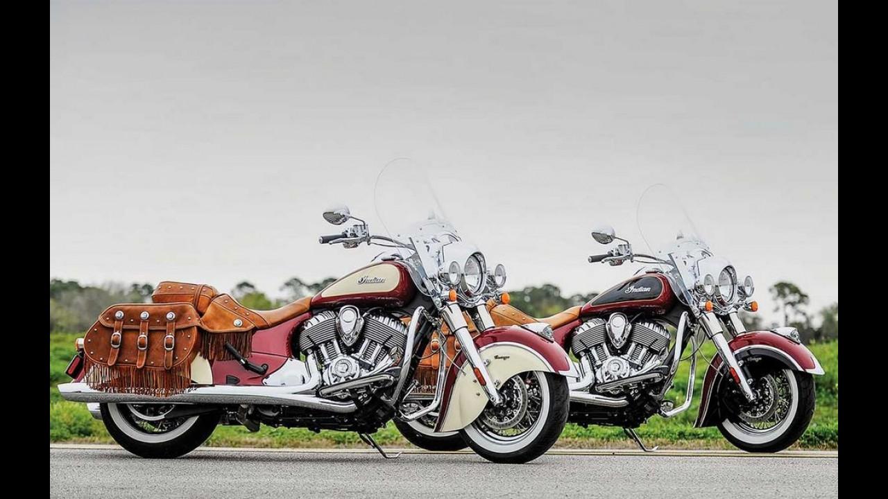 Indian Motorcycle confirma os cinco modelos que serão vendidos no Brasil