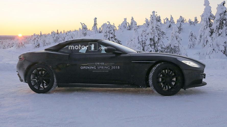 Aston Martin DB11 Volante'yi 34 casus fotoğrafı ile yakından tanıyoruz