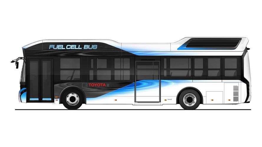 Toyota'nın yakıt hücreli otobüsü