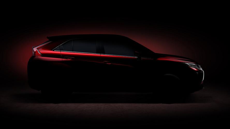 Mitsubishi compact SUV teased for Geneva, Eclipse name rumored