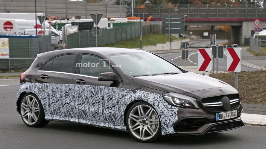 Mercedes-AMG daha güçlü bir A45 mi getiriyor?