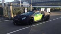 Lamborghini Aventador Roadster caught leaving the factory