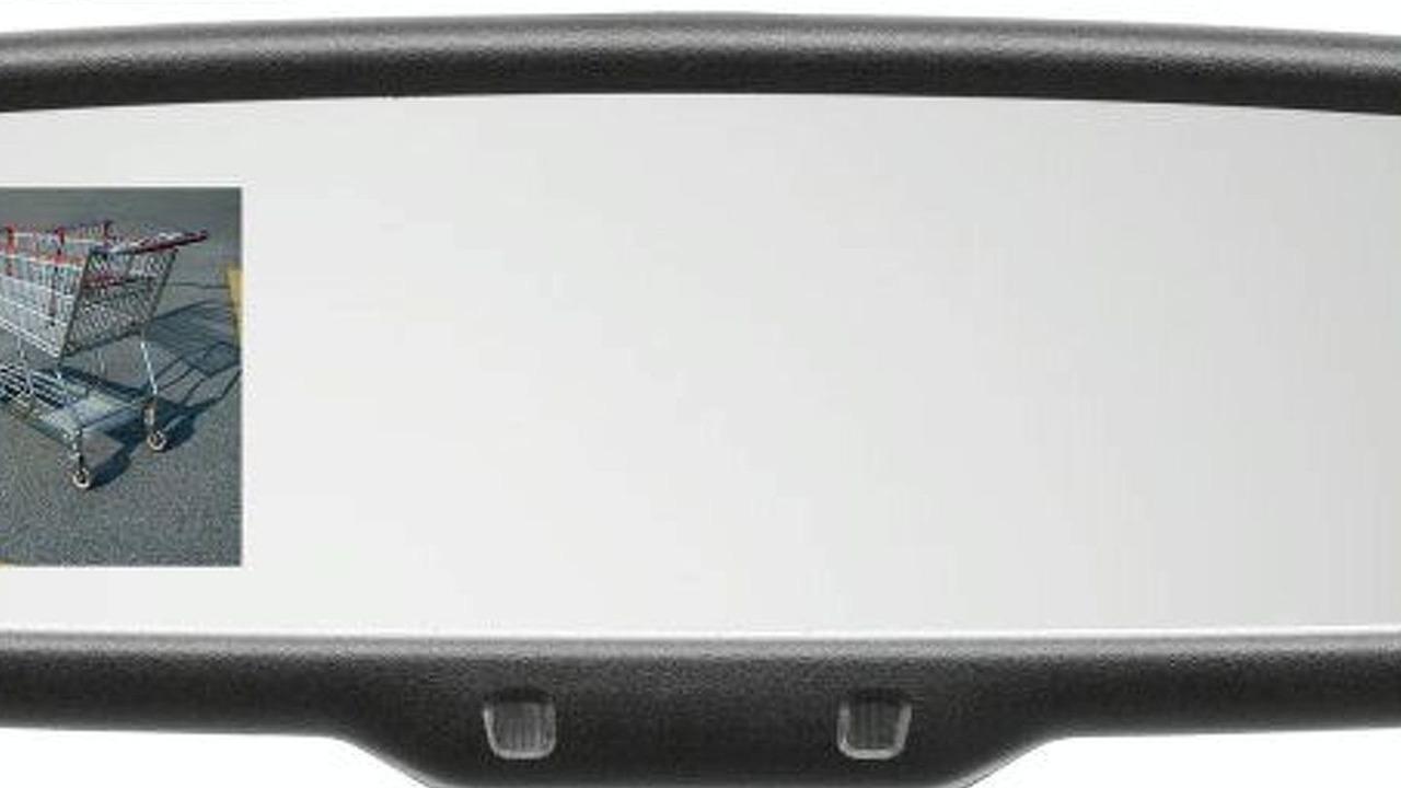 Mazda CX-9 Backup Camera Mirror Display System