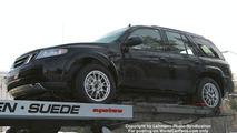 SPY PHOTOS: All new Saab 9-4X