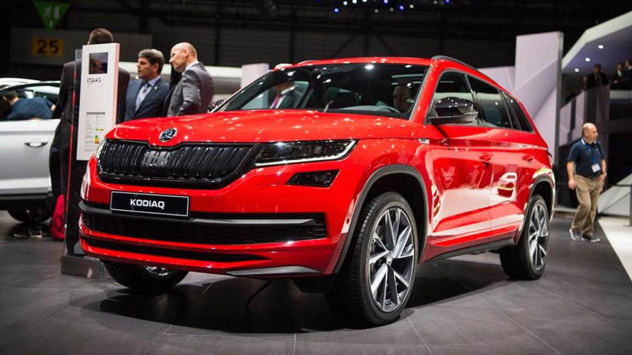 skoda kodiaq sportline looks faster but it isn 39 t. Black Bedroom Furniture Sets. Home Design Ideas