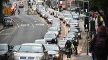 Birleşik Krallık şehir merkezi trafiği