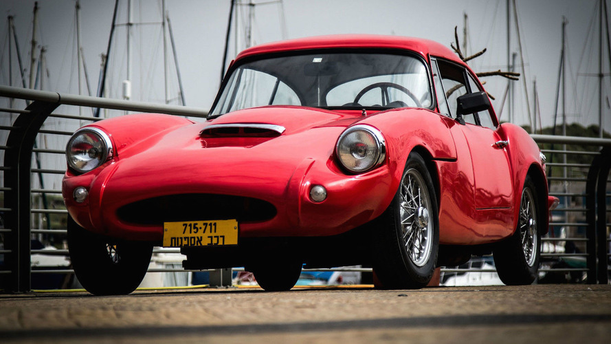 You Could Own One Of The Last Remaining Sabra GT Sports Cars