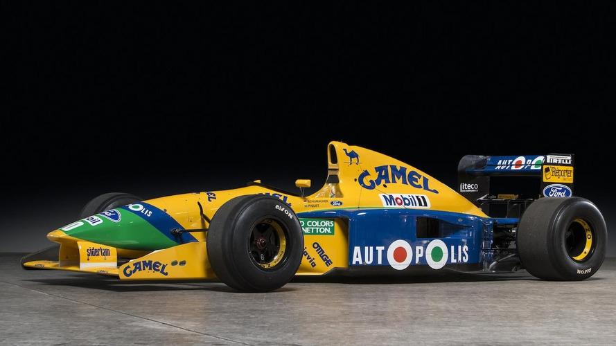 Se subasta un Benetton Ford, de 1991, que fue conducido por Schumacher