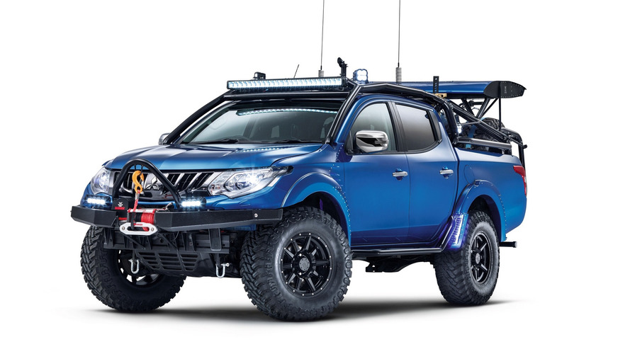 Mitsubishi L200 Desert Warrior - Le plus viril des pick-up ?