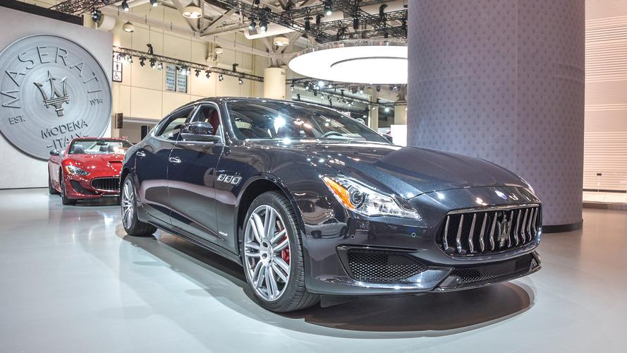 Maserati Quattroporte GranSport gets pretty for Canadian debut