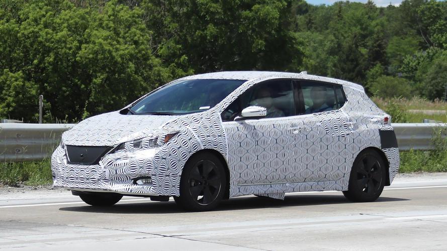 La Nissan Leaf (2017) se découvre : photos !