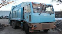 Motiv's çöp kamyonu dönüşümü