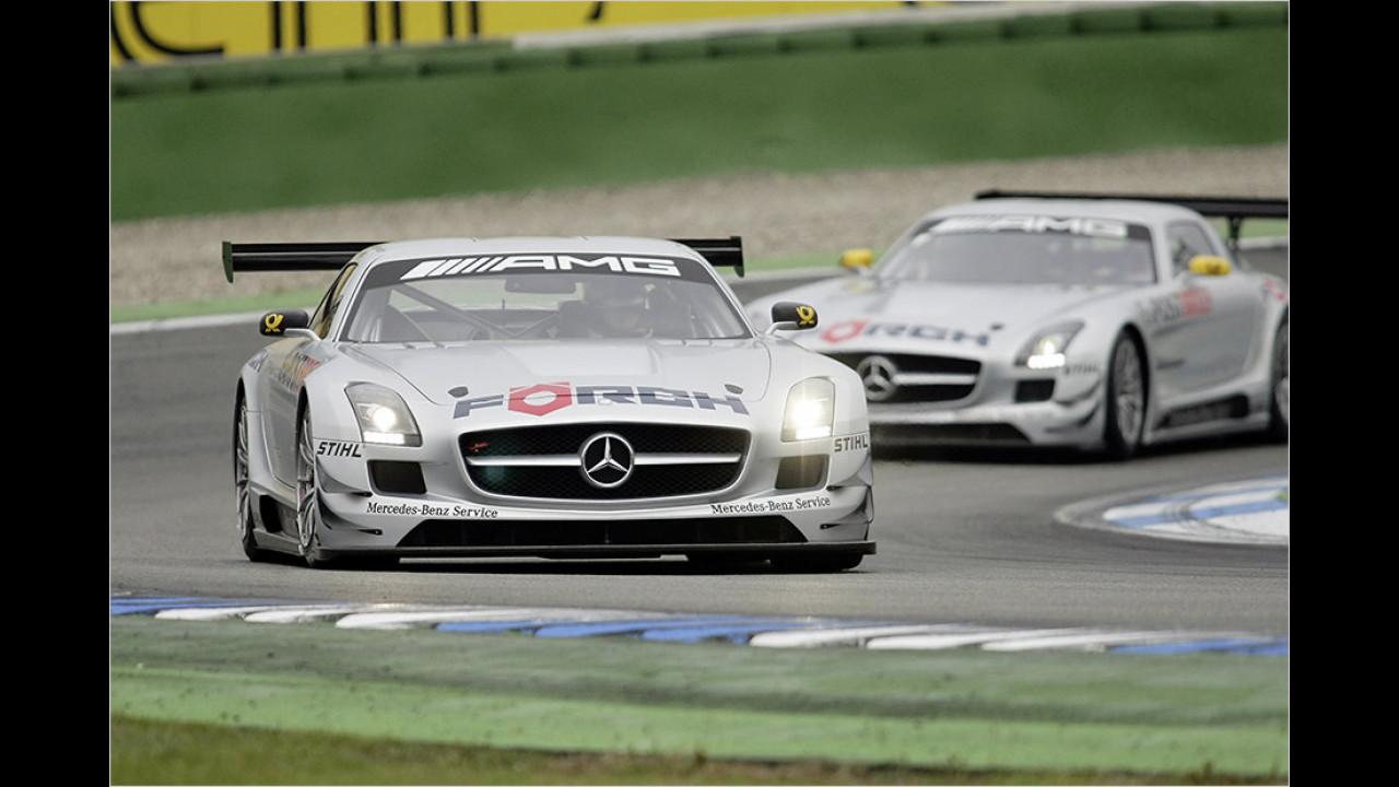 seit 2010: Kundensport mit SLS AMG GT3 und AMG GT3
