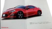 Toyota FT-86 aparece em novas imagens vazadas de catálogo japonês