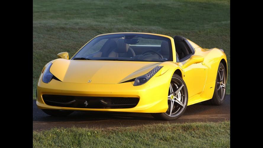 Ferrari 458 Spider já pode ser encomendada no Brasil