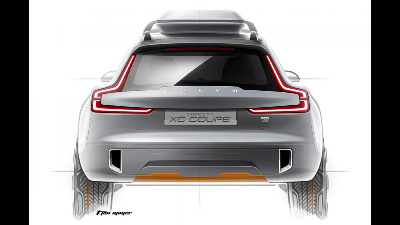 Futuro XC90: Volvo revela teaser e vídeo do XC Coupé Concept