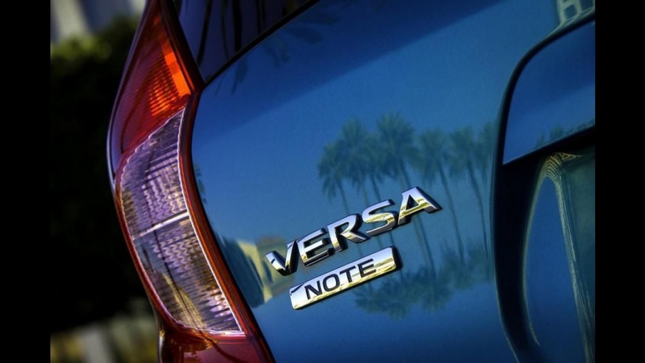 Nem Versa, nem Note: Versa Note - Nissan divulga o primeiro teaser da versão hatchback