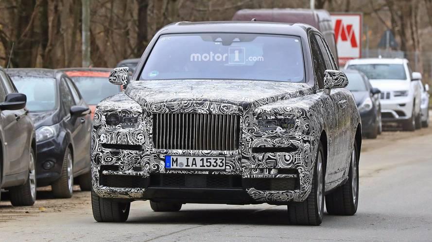 Le SUV de Rolls-Royce ne prendra pas le nom