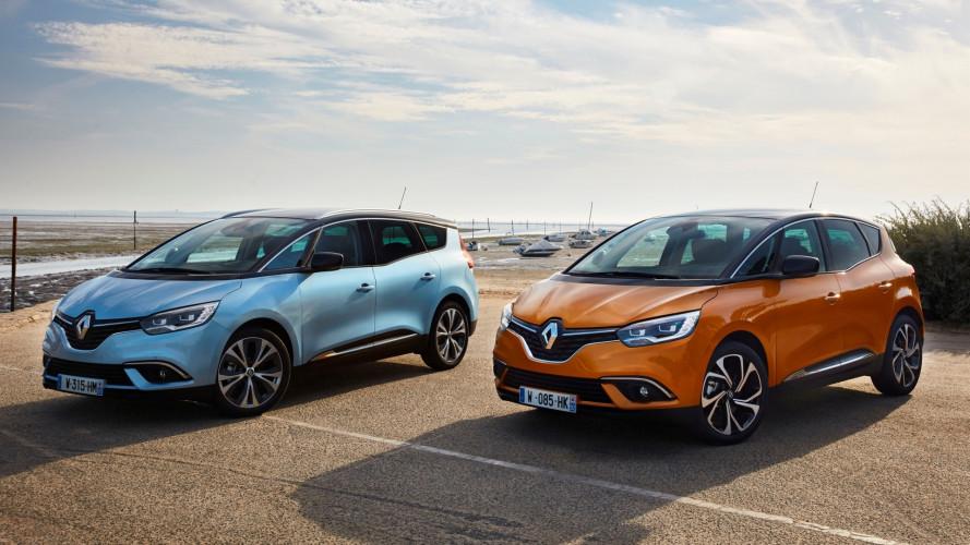 Renault, sulle Scenic e Grand Scenic debuttano i nuovi Tce