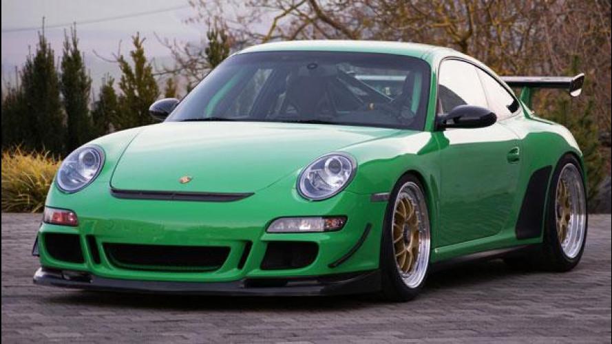 Porsche 911 GT3 RS, stile scozzese per Kaege