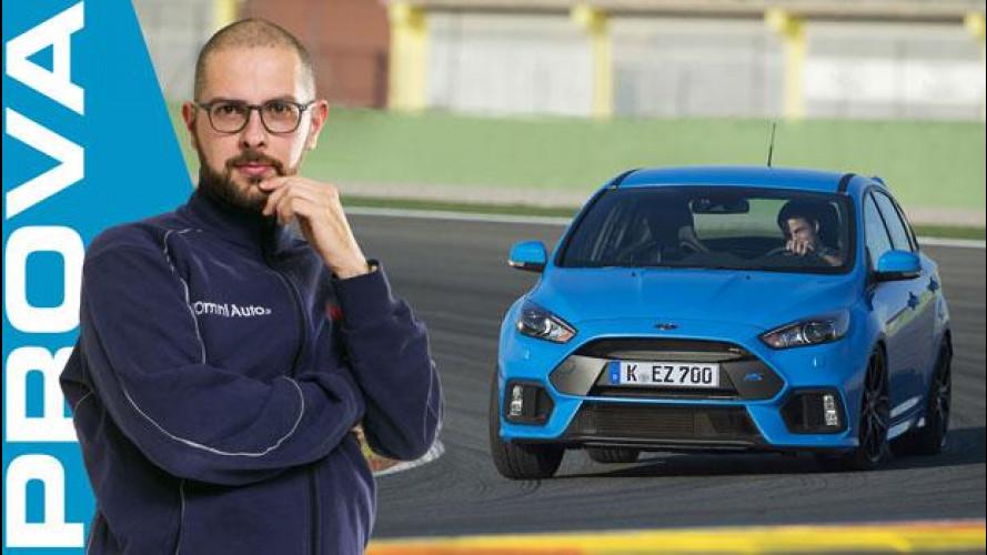 Ford Focus RS, l'elettronica si fa bella [VIDEO]