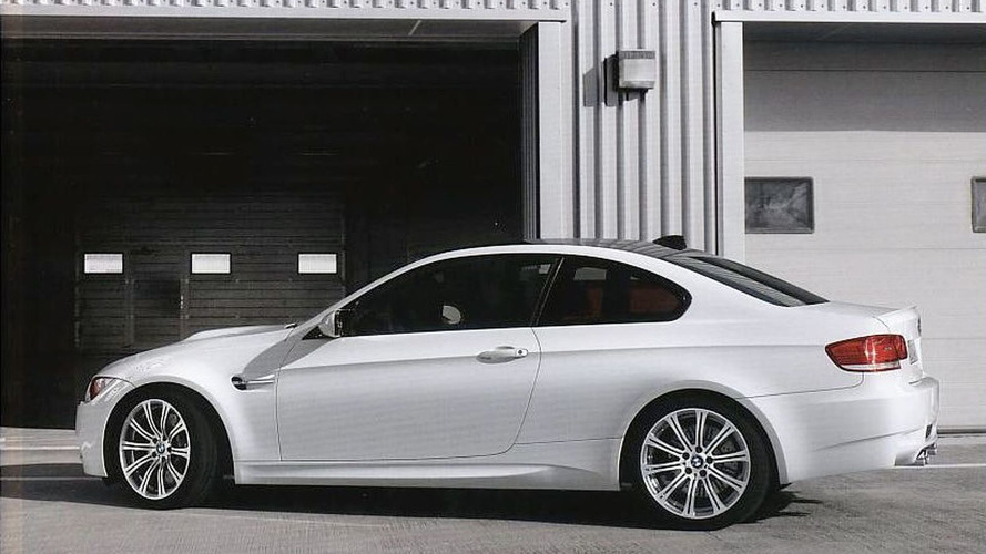 BMW E92 M3 Brochure Pictures
