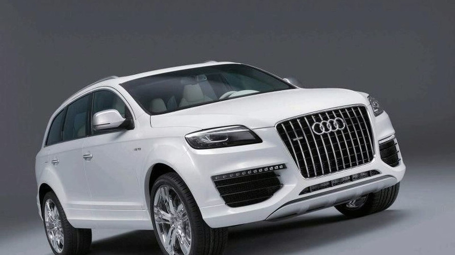 Audi Q7 V12 TDI to launch in 2008