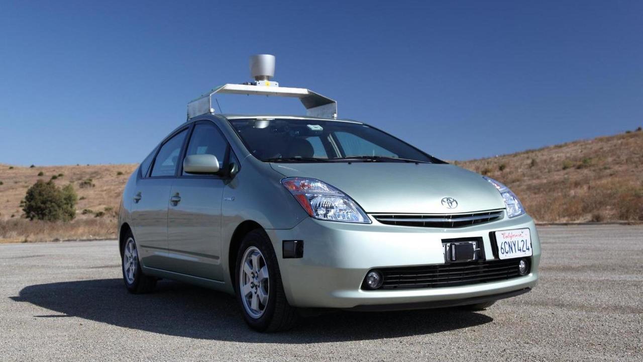 Google self driving car- based on Toyota Prius