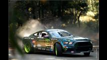 Mustang vs. Lambo in Japan