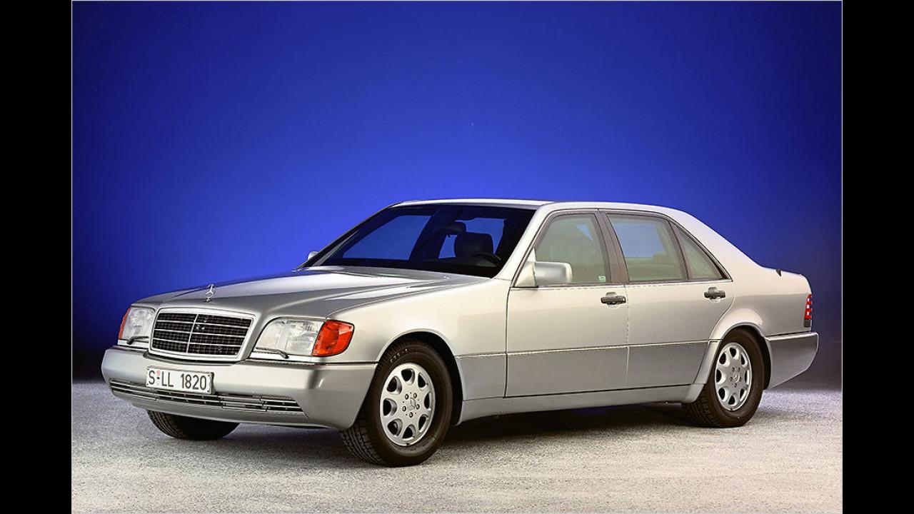 25 Jahre Mercedes S-Klasse (W 140)
