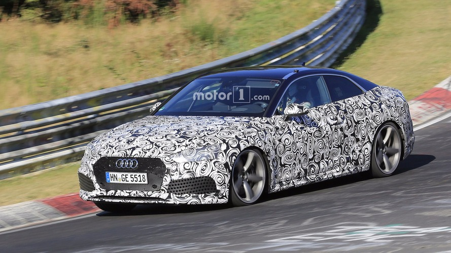 2018 Audi RS5 Coupe brings roll cage to the Nordschleife