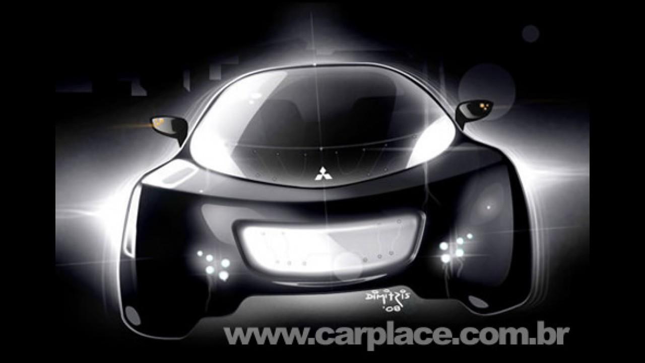 Mitsubishi i MiEV Sport Air Concept com baterias de lítio estará em Genebra