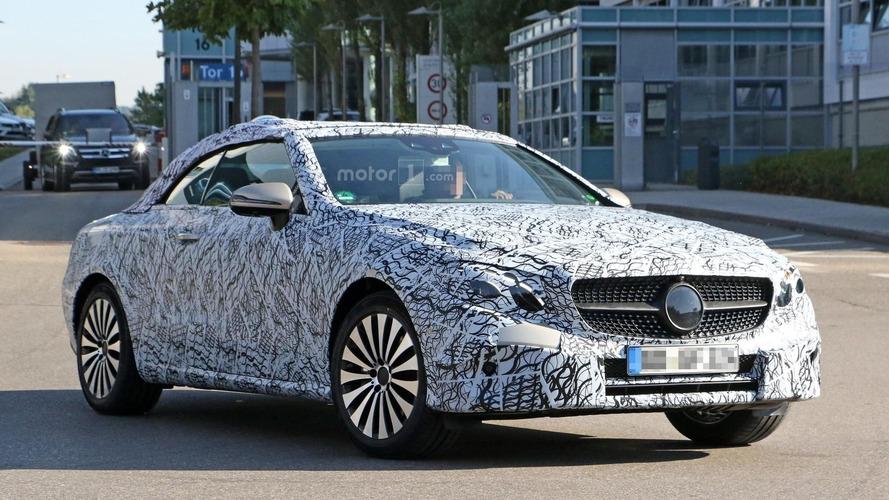 Yeni Mercedes E-Class tasarımını kamuflajın altında gizliyor