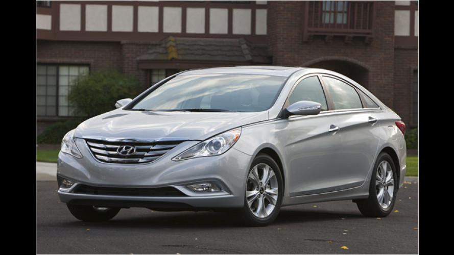 Neuer Hyundai Sonata: Anderes Design und GDI-Motor