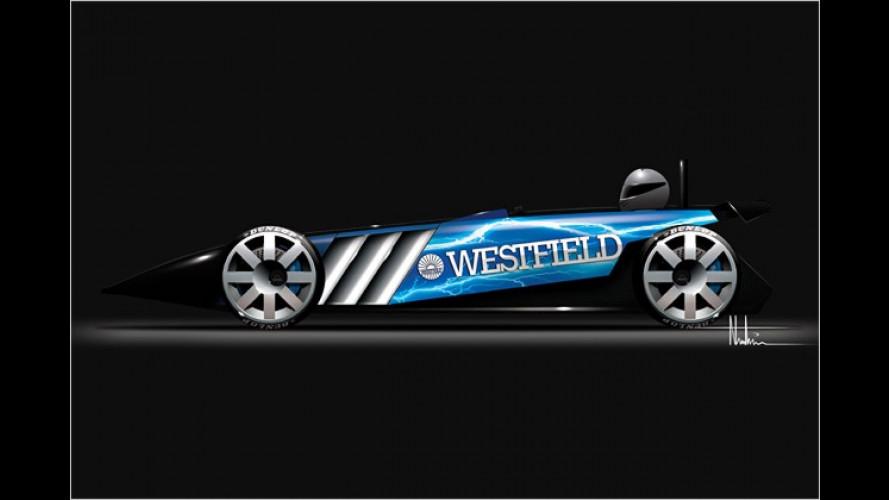 Elektrische Sieben: Westfield Electric Car fertig gezeichnet