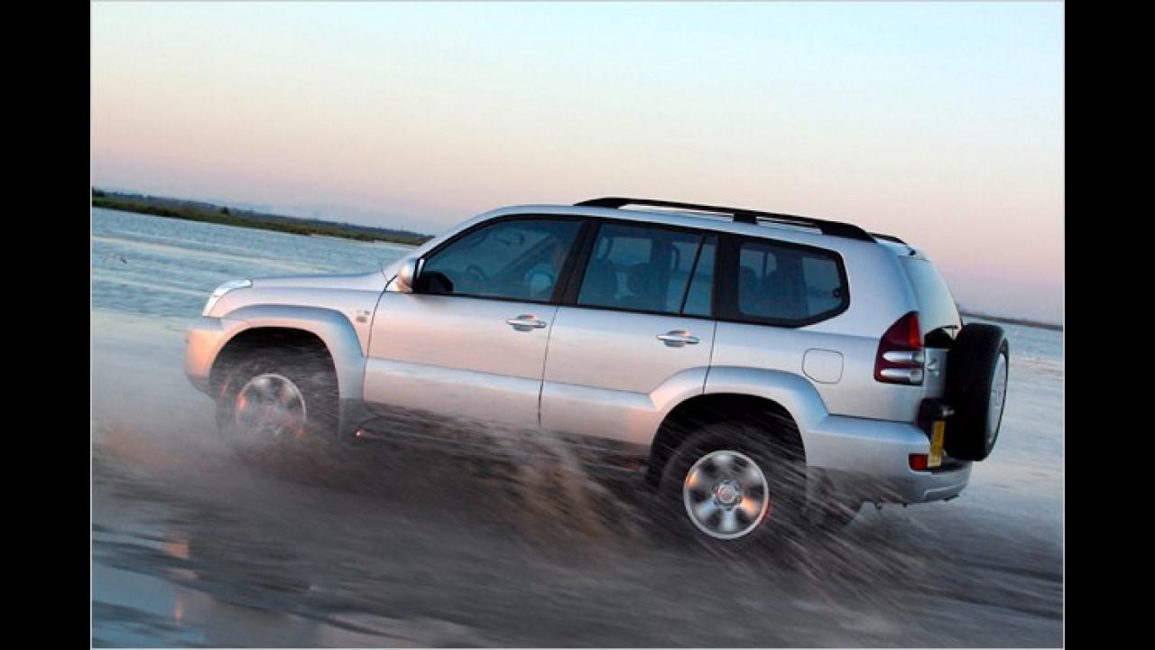 Land Cruiser J12 (2002 bis 2009)