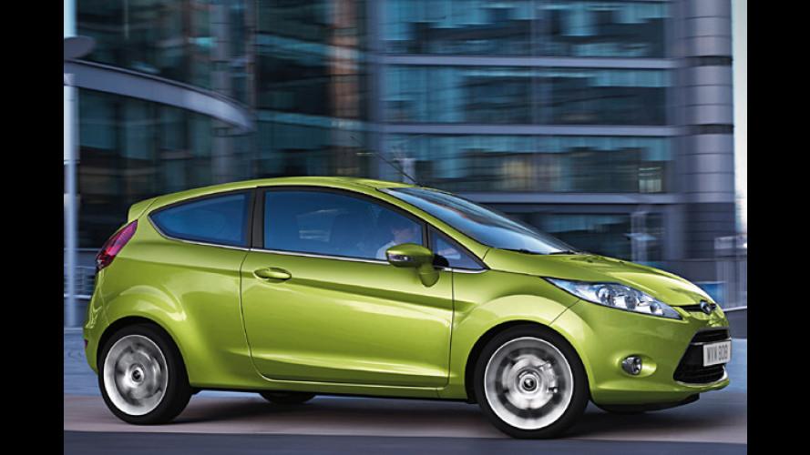 Ford Fiesta künftig auch mit Autogas-Antrieb erhältlich