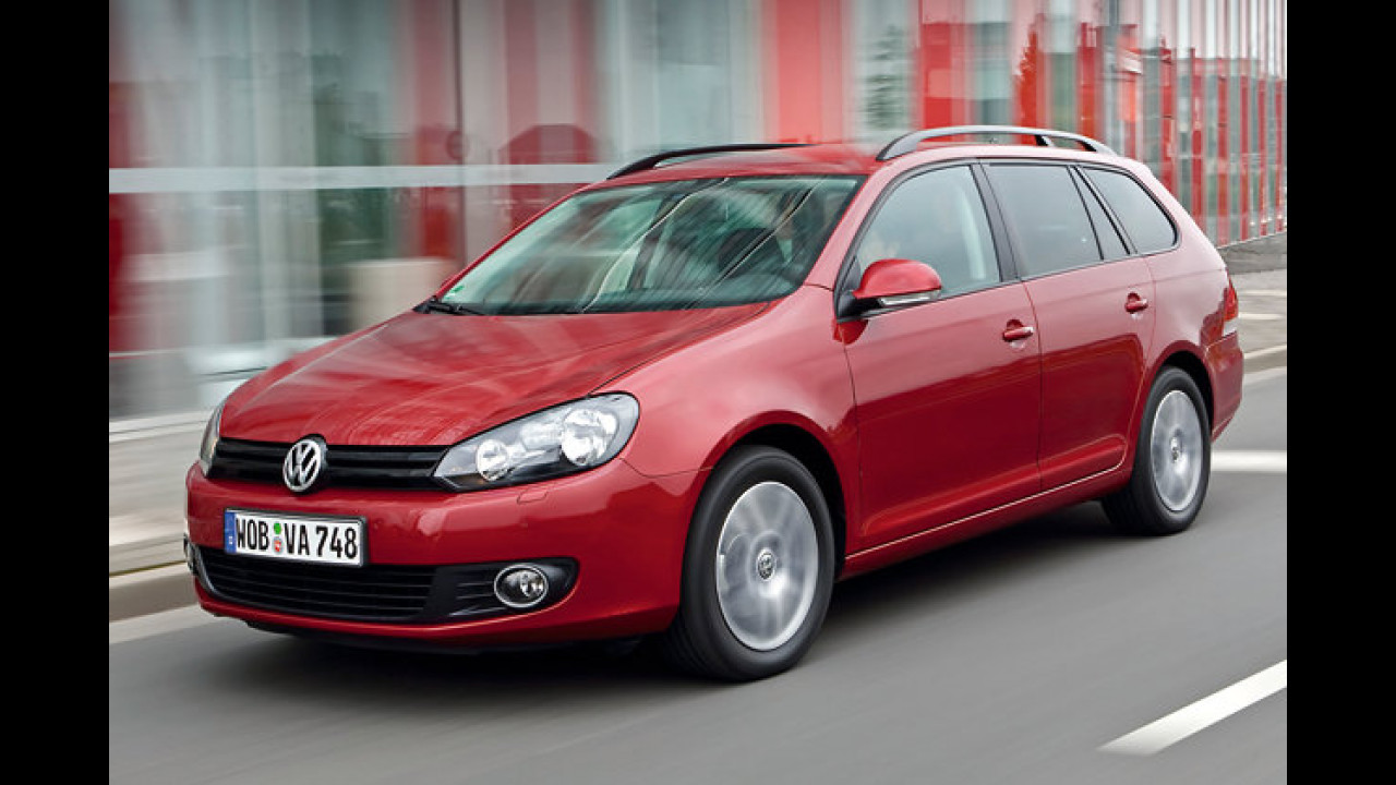 VW Golf Variant 1.6 TDI BlueMotion Technology