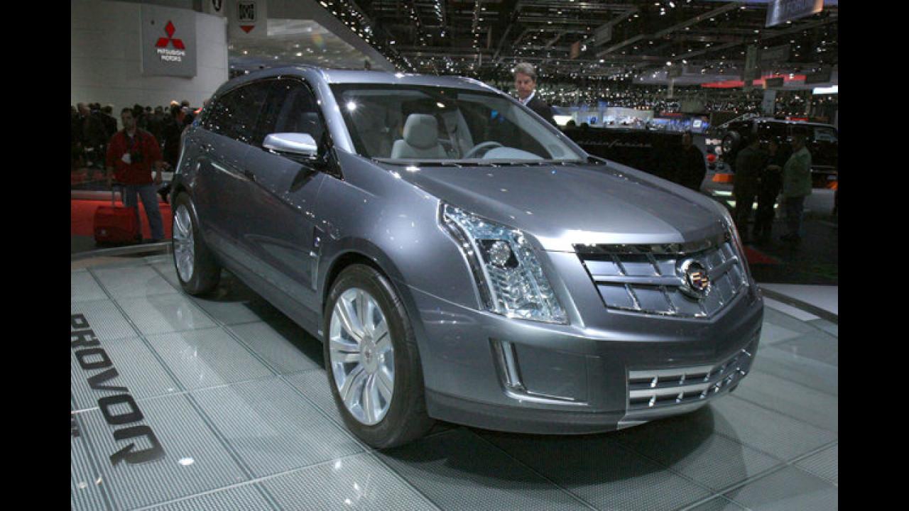 Cadillac Provoq: Das kantige SUV der amerikanischen Luxusmarke setzt auf Brennstoffzellentechnik
