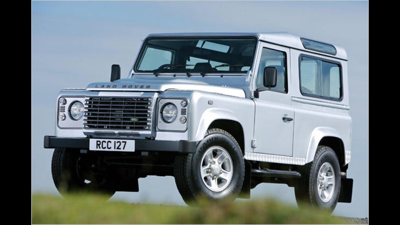 Männerauto: Land Rover Defender