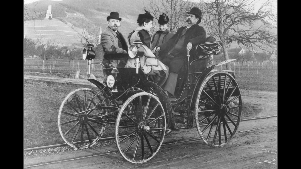Carl und Bertha Benz (1894)