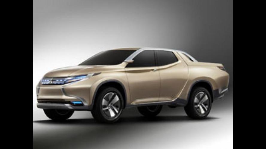 Mitsubishi Concept GR-HEV, il pick-up