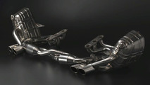 Porsche 997 exhaust by Rinspeed