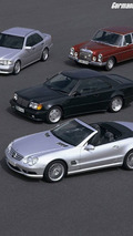 Daimler-Benz and AMG Cooperation Since 1990