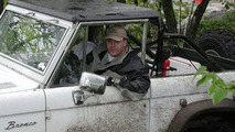 Harry Rawlins in his 1973 Ford Bronco