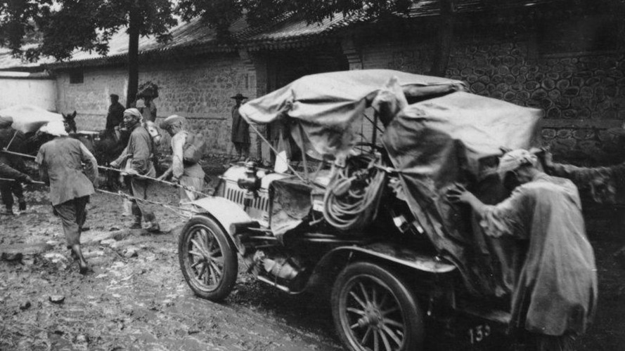 Paris to Beijing in 1907